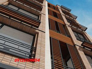 رنگ نمای ساختمان چوبی