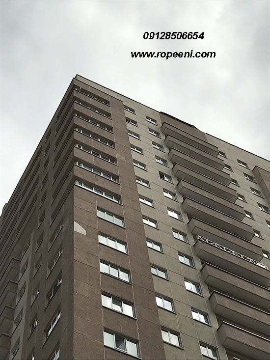 رنگ آمیزی نمای بیرونی ساختمان